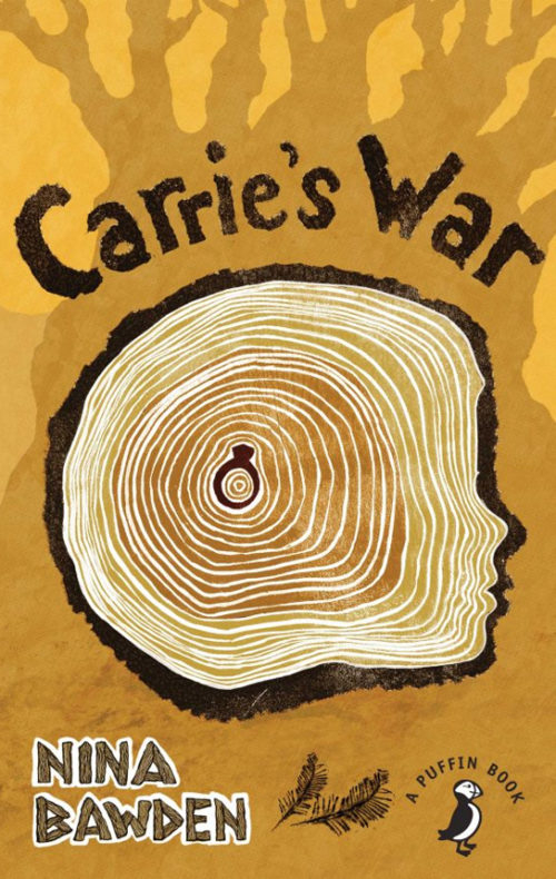 Book cover // CARRIE'S WAR