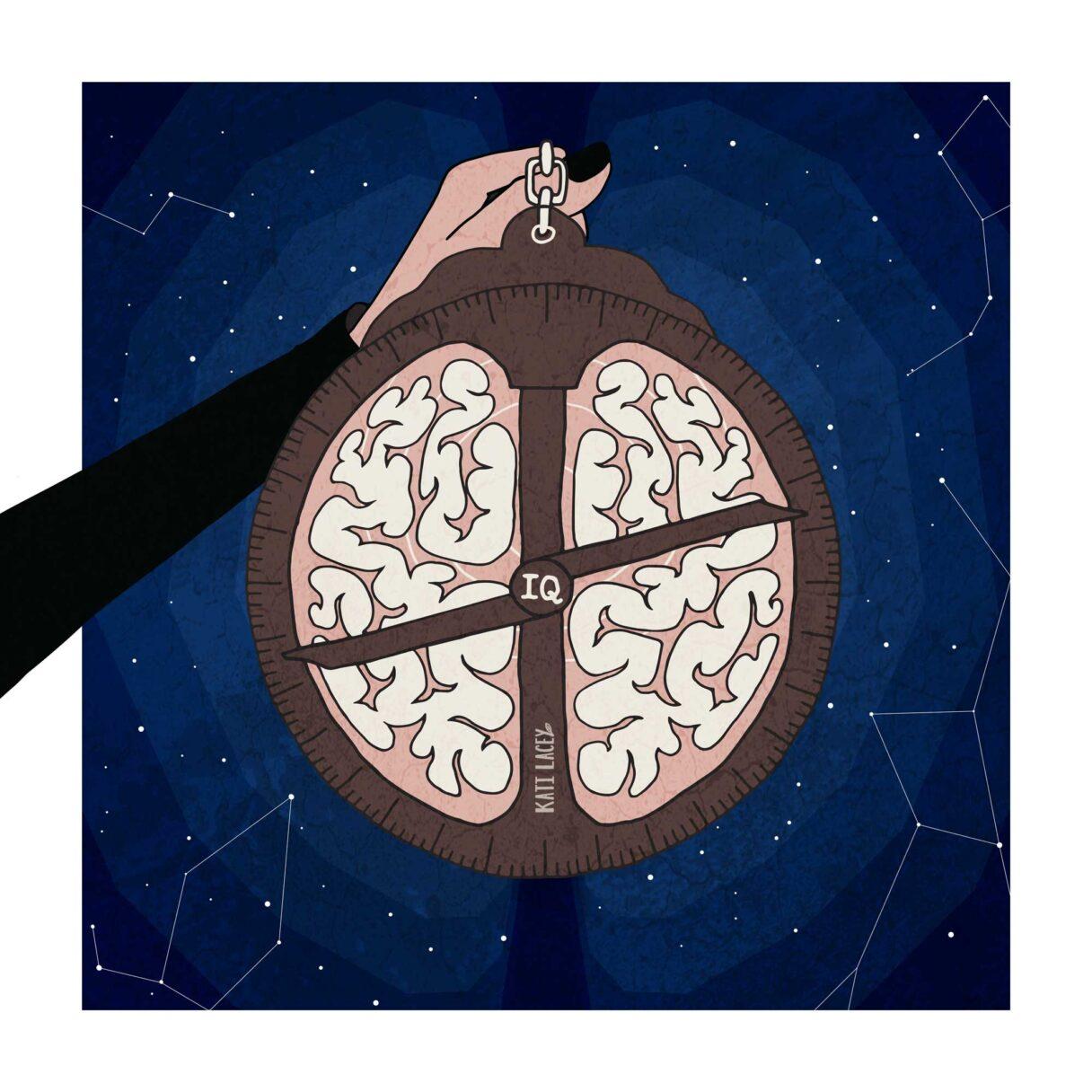 brain-astrolabe-navitaional-tool-editorial-illustration-illustrtator-Kati-Lacey
