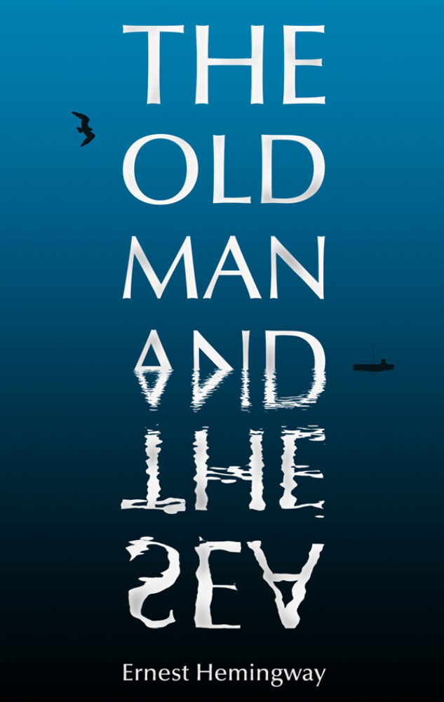 THE OLD MAN AND THE SEA // BOOK COVER