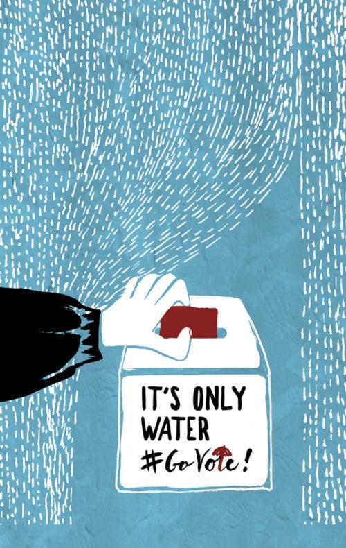 Editorial // #GOVOTE IN THE RAIN