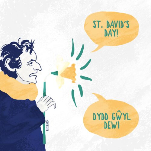 Editorial // ANNOUNCING ST. DAVID'S DAY