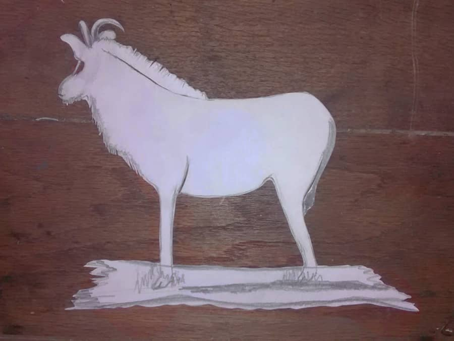 kati-lacey-illustration-roan-antelope-papercut