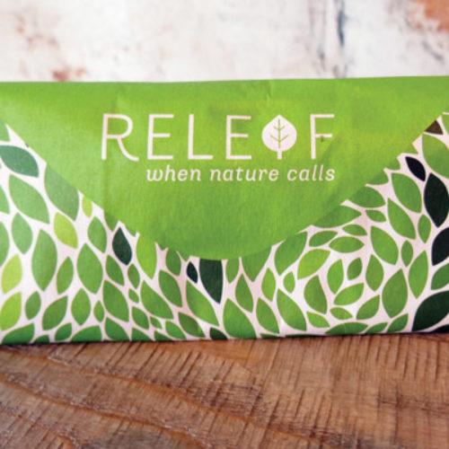 Branding & Biodegradable packaging // RELEAF BAG