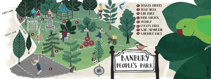 Map-Artist-Oxfordshire-Map-illustration-Banbury-Peoples-Park-Art-Print