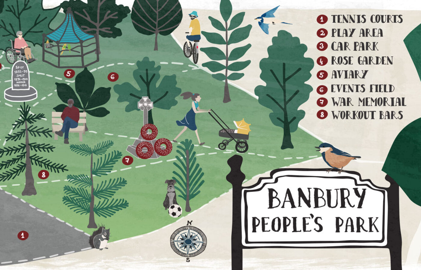 MAP // BANBURY, PEOPLE'S PARK