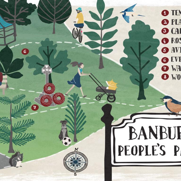 MAP // BANBURY, PEOPLE'S PARK