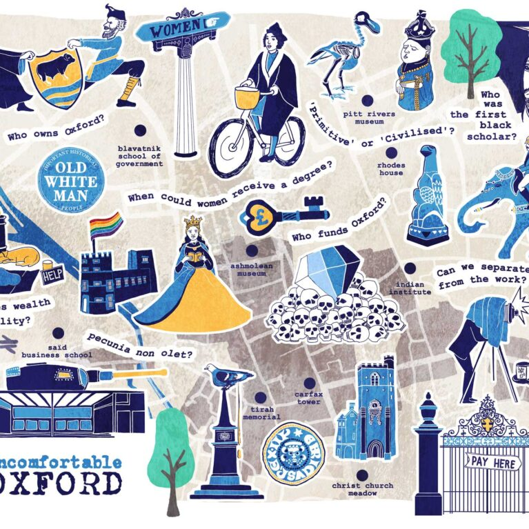 MAP // UNCOMFORTABLE OXFORD