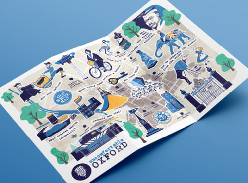 Uncomfortable Oxford Map // UNCOMFORTABLE OXFORD