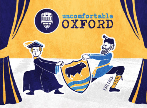 Social Media Banner // UNCOMFORTABLE OXFORD