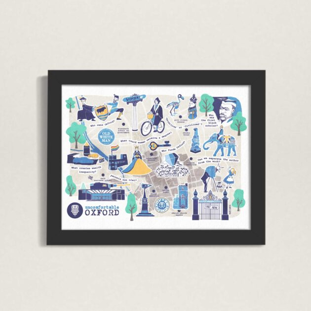 Illustrated-Oxford-Map-Uncomfortable-Oxford-design-by-Kati-Lacey