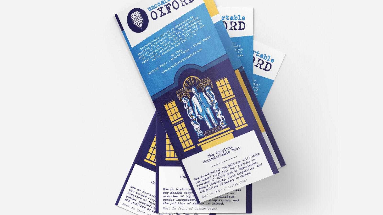 EDITORIAL+BRANDING // UNCOMFORTABLE OXFORD