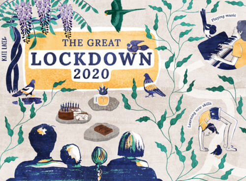 Map // THE GREAT LOCKDOWN 2020