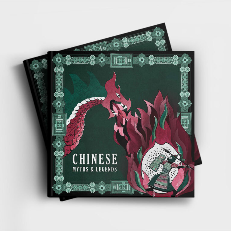 CHINESE MYTHS & LEGENDS // BOOK COVER