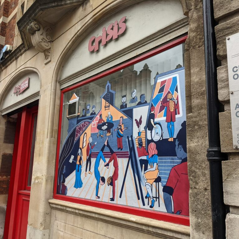 WINDOW VINYL // ARTS AT THE OLD FIRE STATION