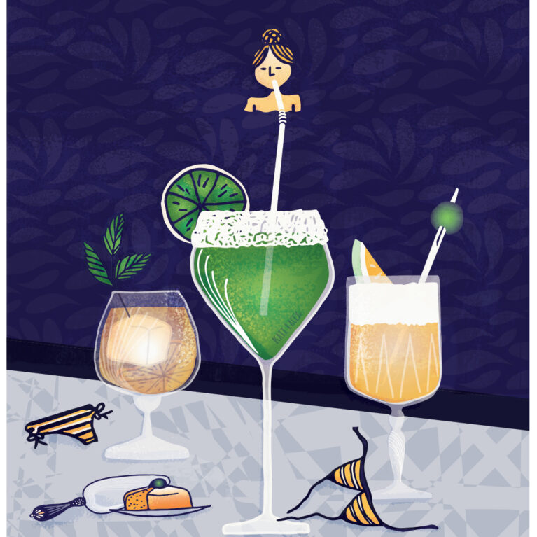 Editorial // POOLSIDE COCKTAILS